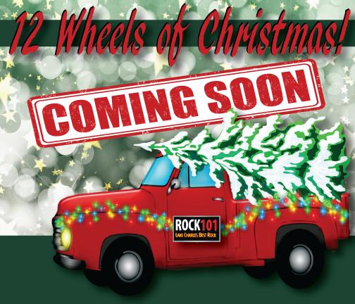 12 Wheels of Christmas!