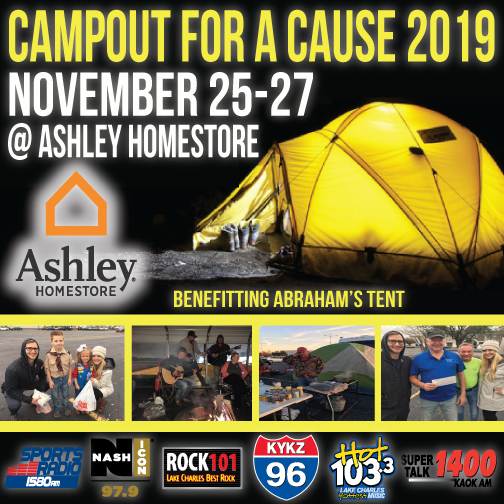 Campout for a Cause 2019!