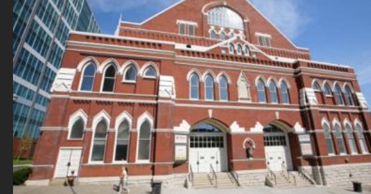 "Nashville's Ryman Auditorium Profiled on ""CBS Sunday Morning"" [Watch]"