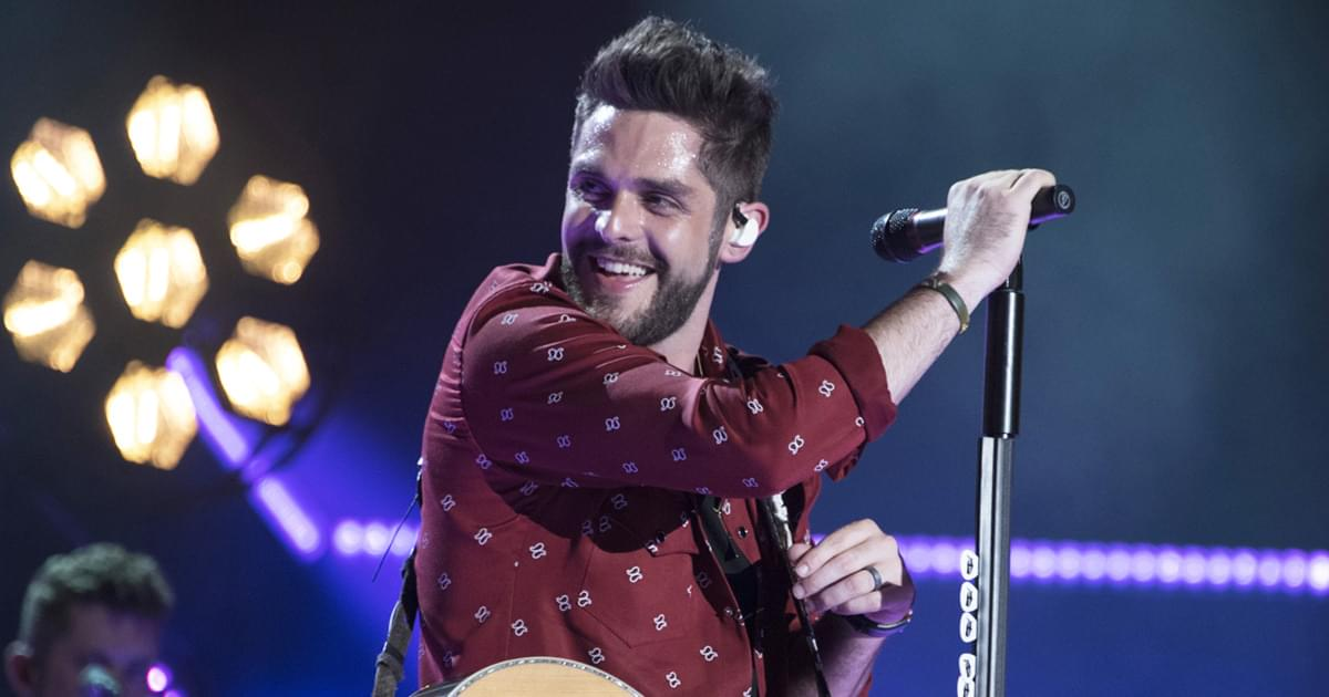 Thomas Rhett Still Feels Like a Freshman Even After a Decade of Success