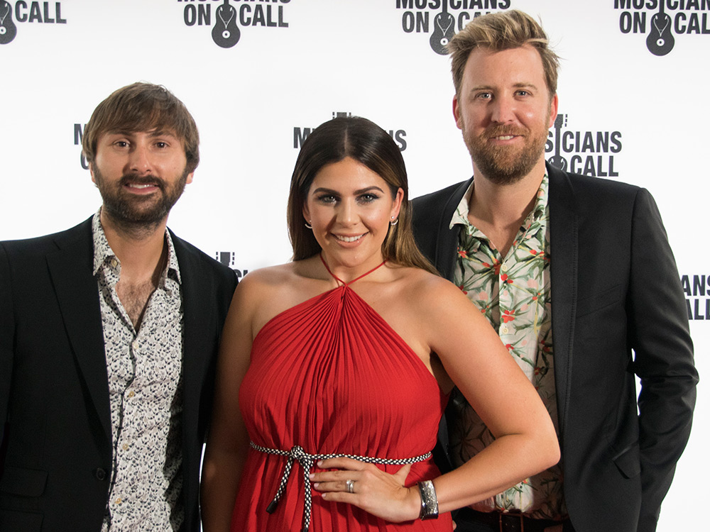 Hunter Hayes, Eric Paslay, Lindsay Ell & More Salute Lady Antebellum as They Receive Musicians On Call Honor