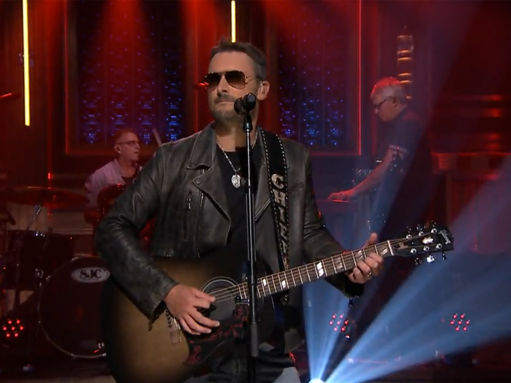 "Watch Eric Church Kill It on the ""Tonight Show"" as He Sings ""Kill a Word"" With Rhiannon Giddens"