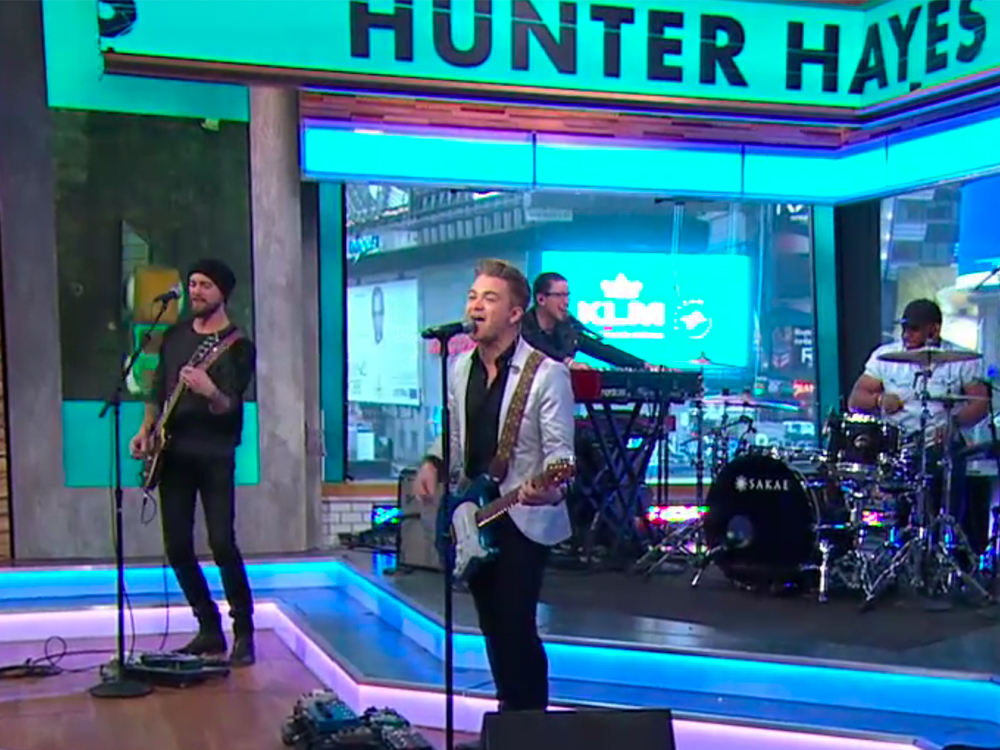 """Watch Hunter Hayes Debut New Song, """"All for You,"""" From Upcoming Animated Movie, """"Monster Trucks"""""""