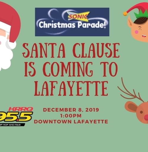 Lafayette Christmas Downtown