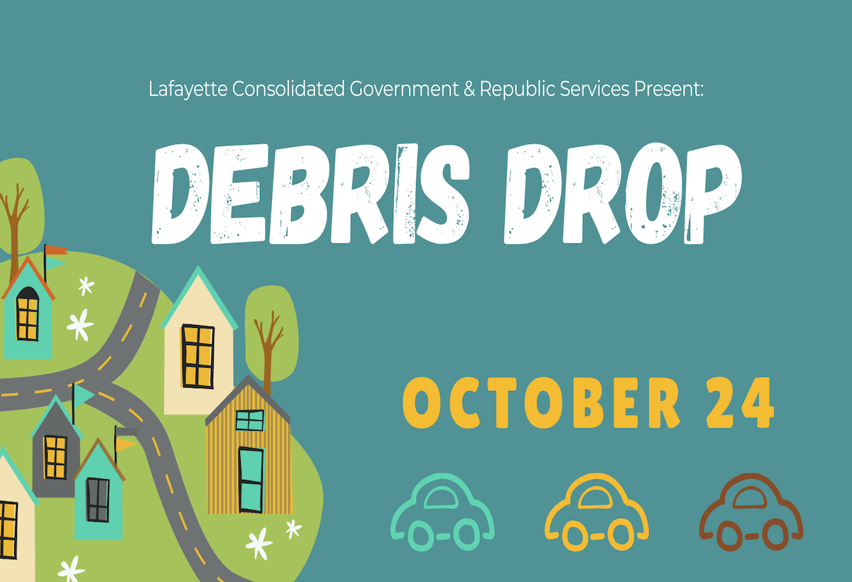 Lafayette Parish 'Debris Drop' Set For October
