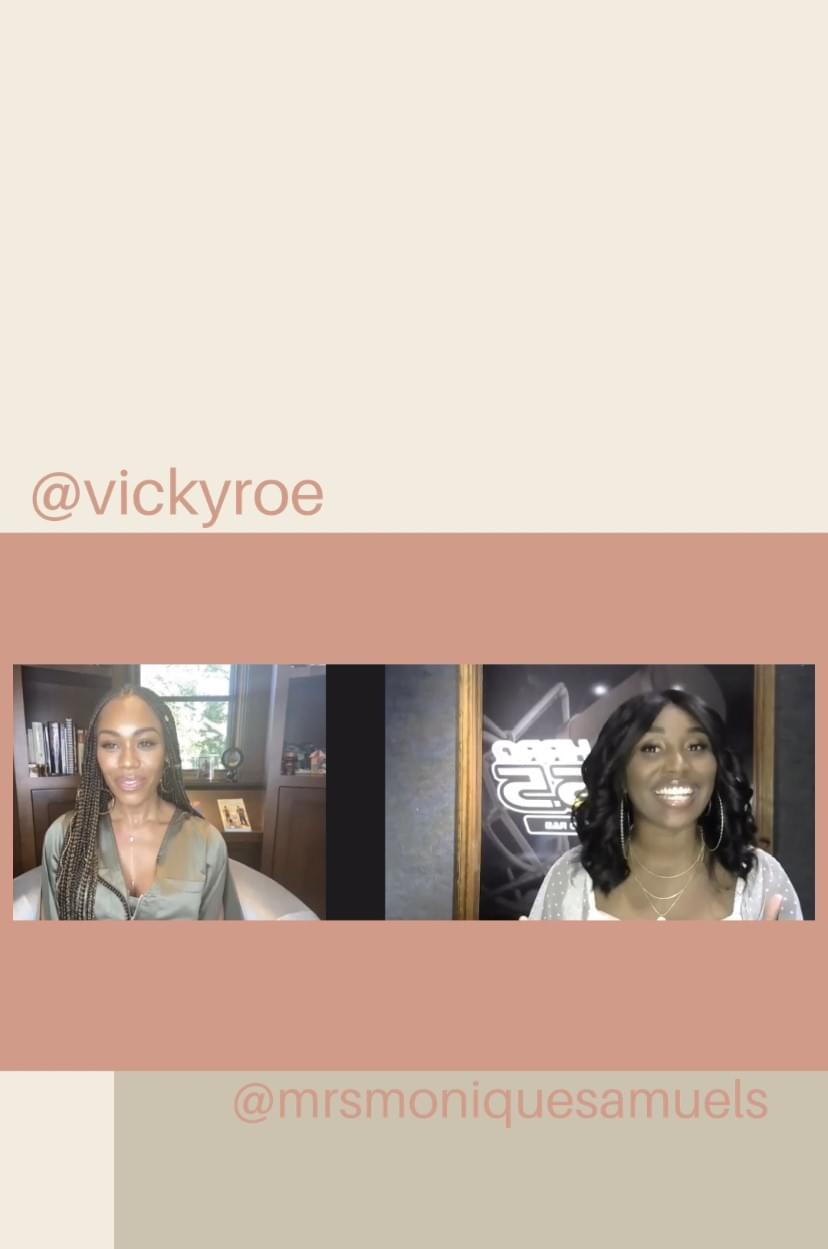 Monique Samuels Addresses All The Rumors With Vicky Roe