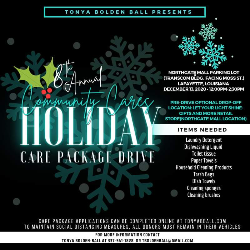 8th Annual Holiday Care Package Drive