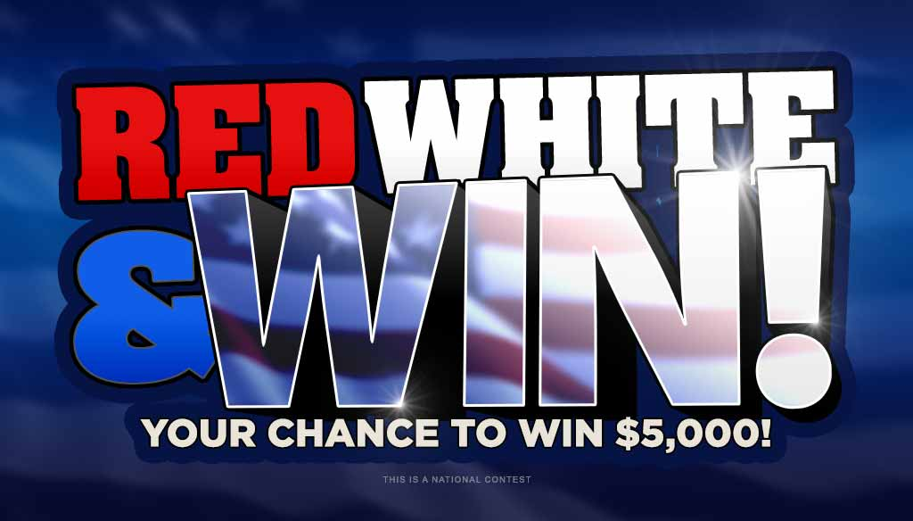 Red White and Win Giveaway