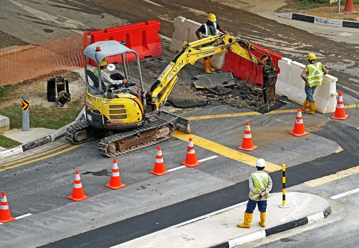 Intersection of Guilbeau and Congress to Reopen Next Week Weather Permitting