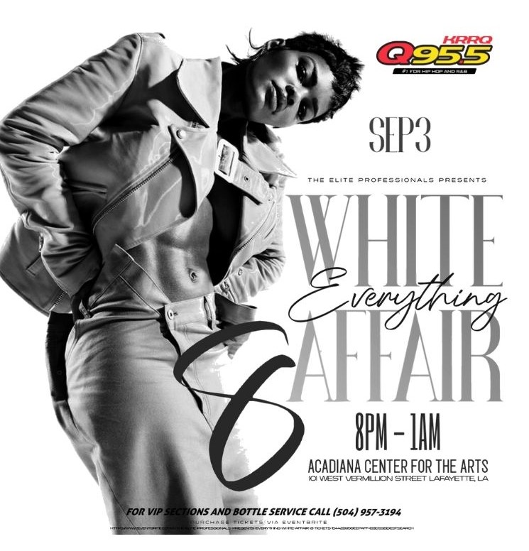 The Elite Proffessionals Presents the 8th Annual Everything White Affair