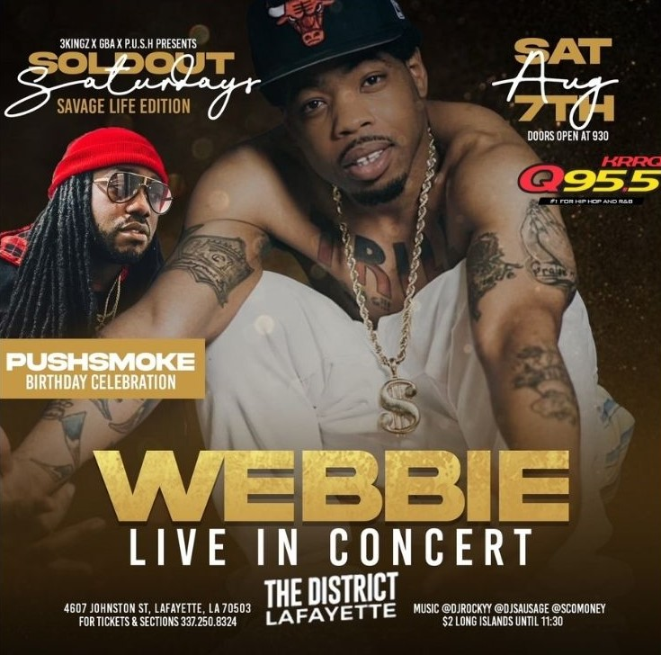 Webbie live in concert
