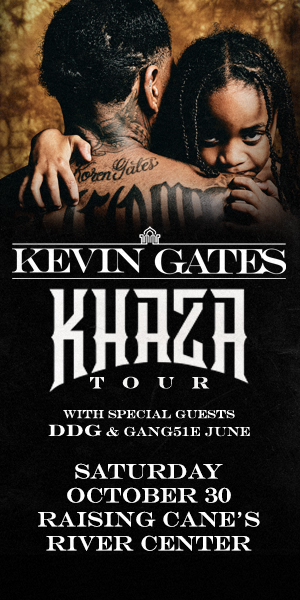 """KRRQ's """"Kevin Gates"""" Ticket Giveaway Contest  Official Rules"""