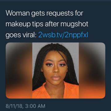Teen's Mug Shot Goes Viral