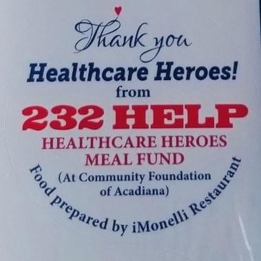 232-HELP Healthcare Heroes Meal Fund