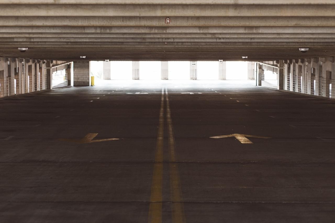 Contractor Misspells 'Librarey' in Parking Lot