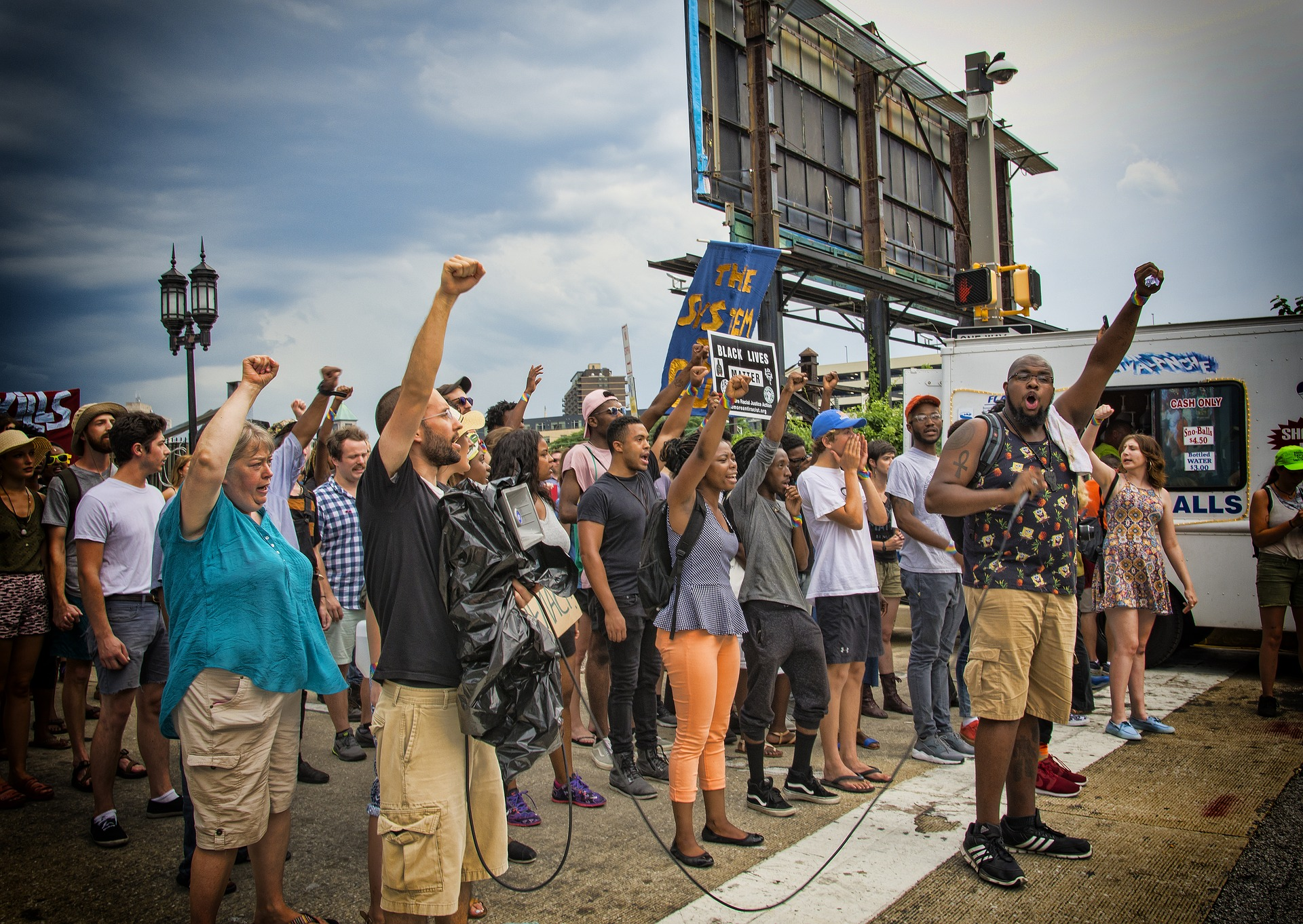 Oklahoma grants immunity to drivers who injure protesters on public roads.