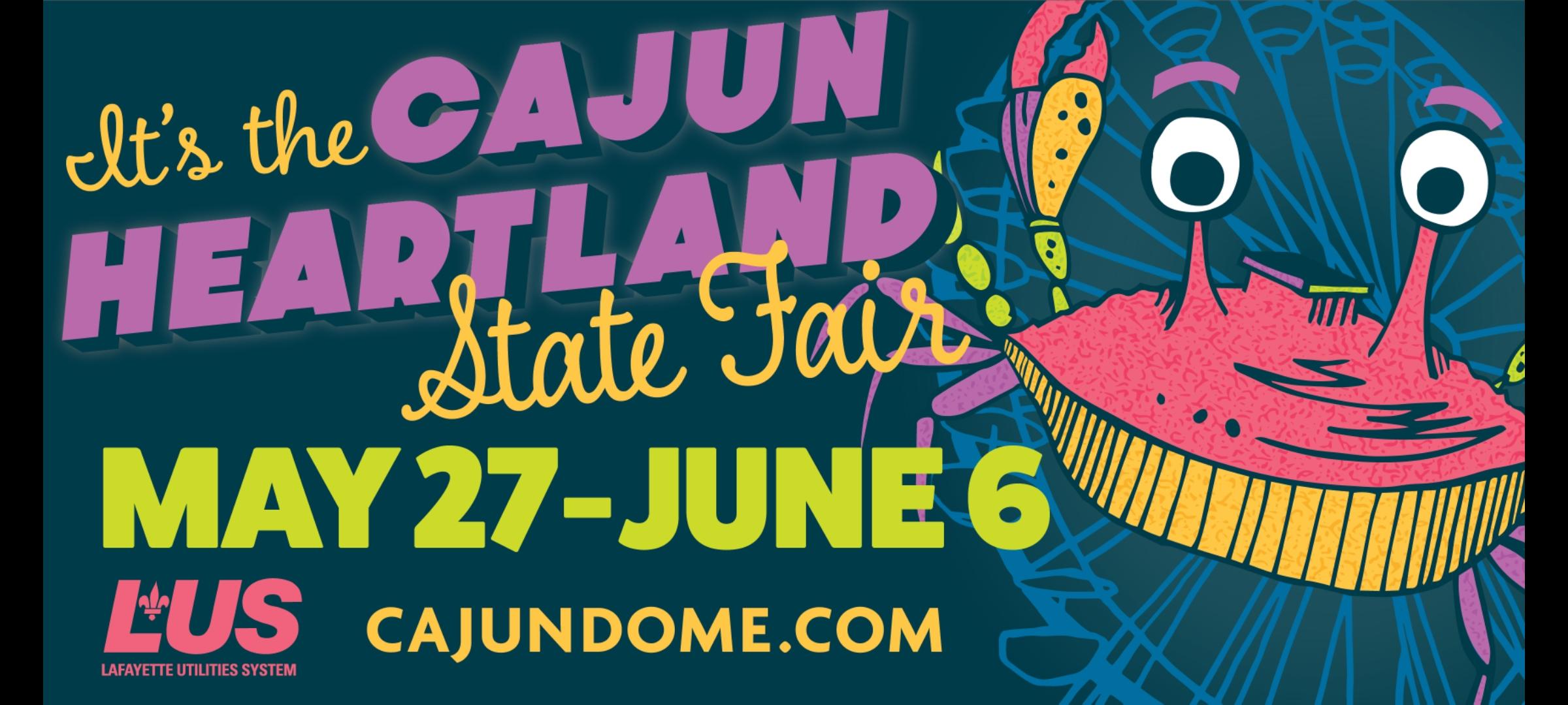 Cajun Heartland State Fair Returns to Cajundome