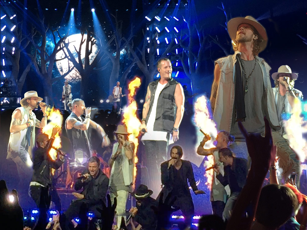 Photo Gallery and Video: Florida Georgia Line Rocks Nashville With Nelly and the Backstreet Boys