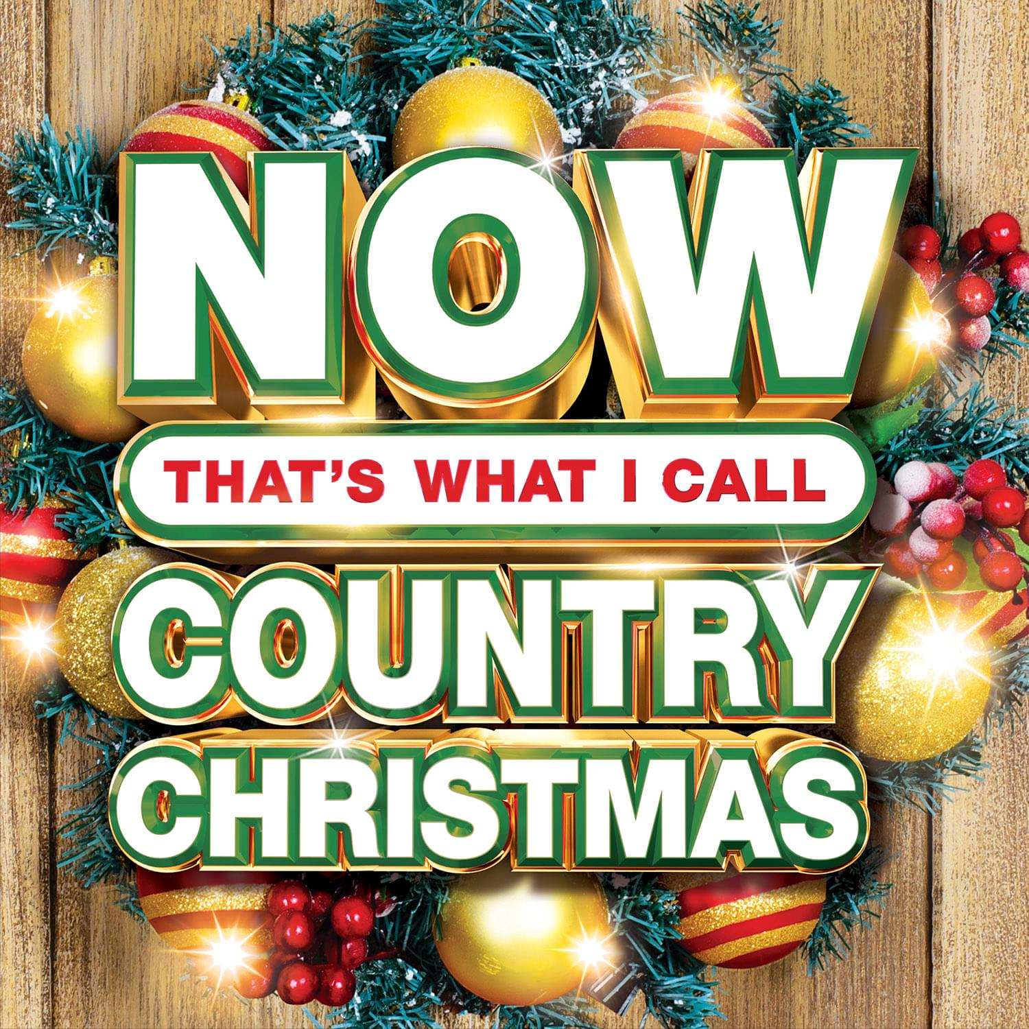 Enter to win a copy of NOW That's What I Call Country Christmas!
