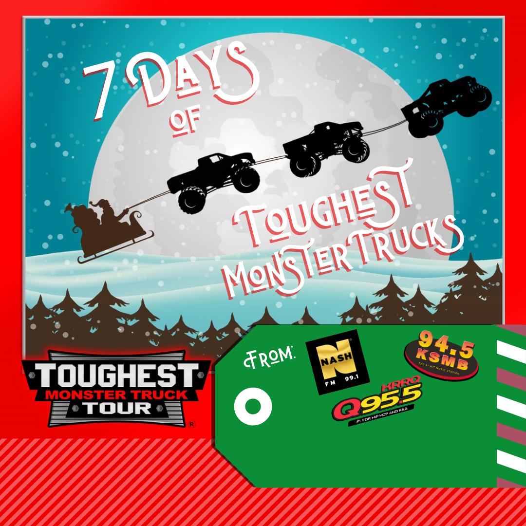 7 Days of Toughest Monster Trucks