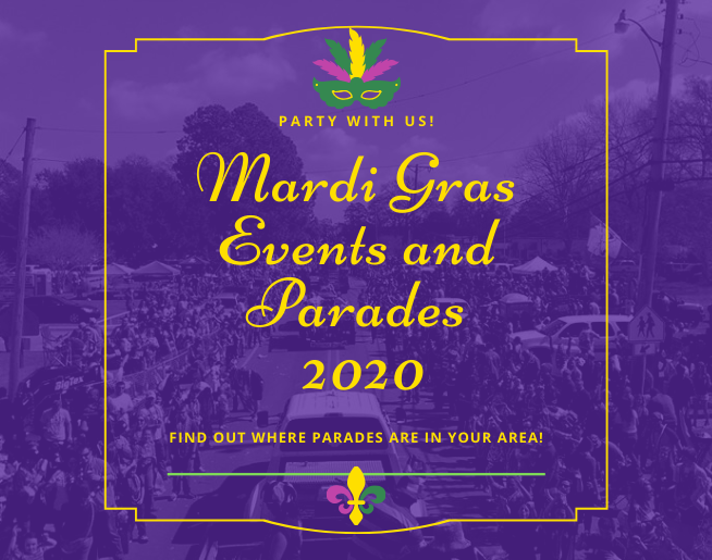 Mardi Gras Parade and Event Schedule 2020
