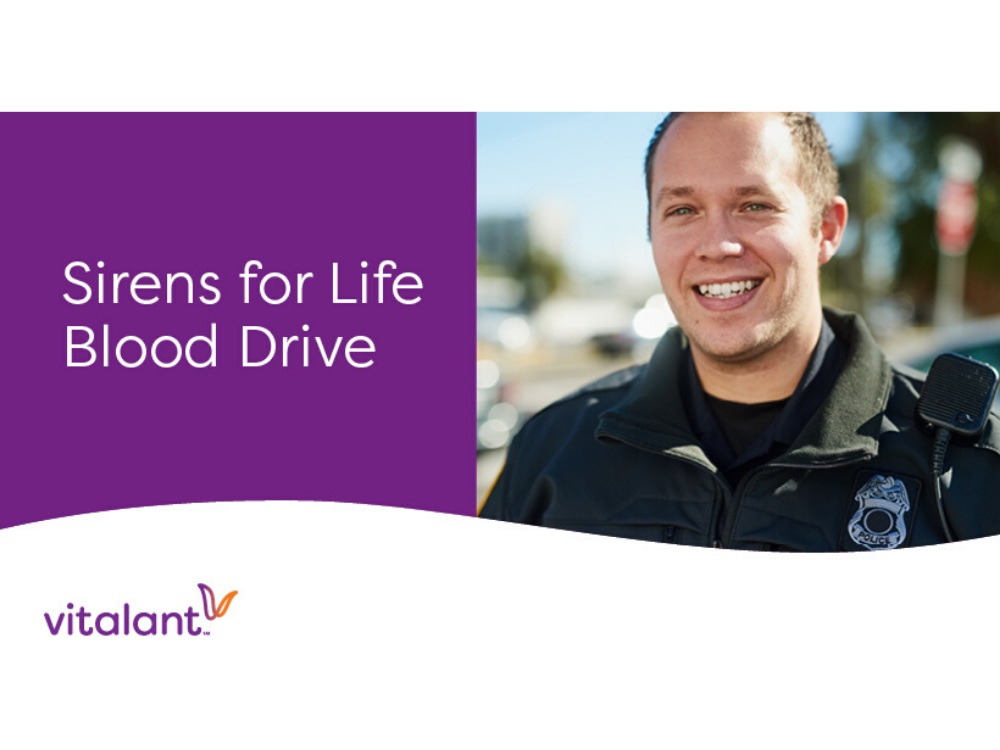 3rd Annual First Responders Sirens for Life Blood Drive Competition