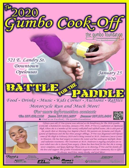 The 2020 Gumbo Cook-off