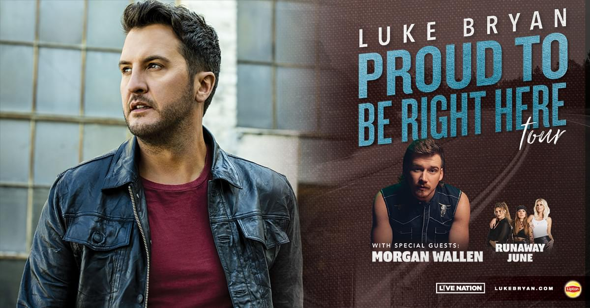 Luke Bryan is coming back to Lafayette and NASH FM  has ticket win before you can buy them