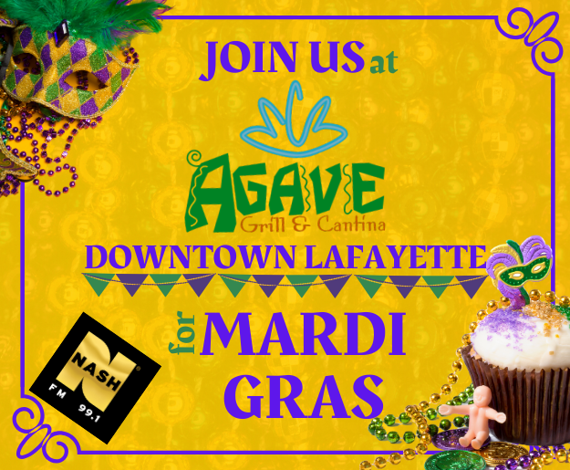 Celebrate Mardi Gras with us at Agave Downtown!