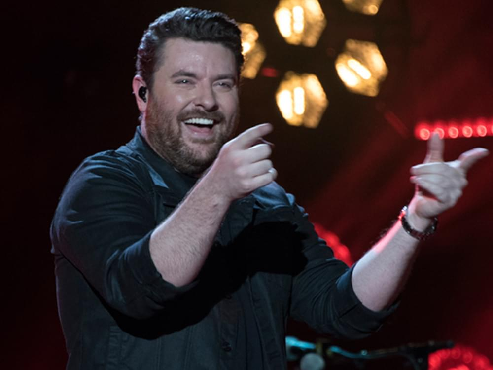 "Chris Young Says He's ""Grateful"" Longtime Label Partner Stuck With Him After ""First Three Singles Tanked"""