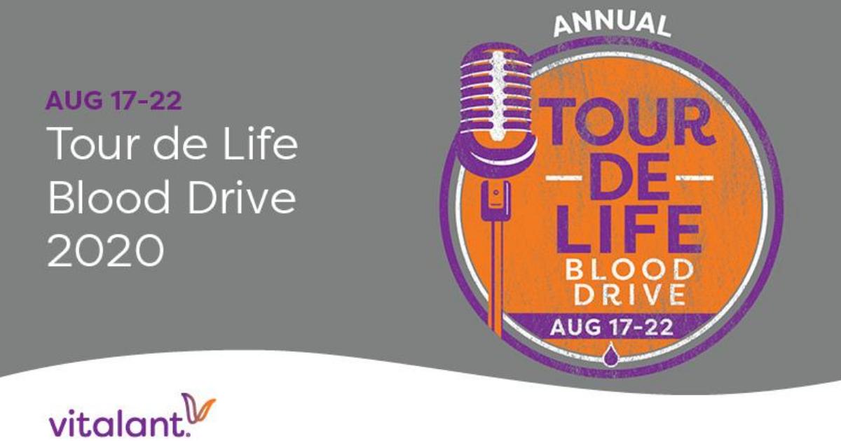 NASH-FM 99.1 & Vitalant Team Up for Annual Tour de Life Blood Drive