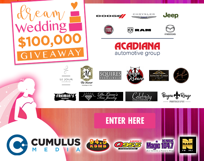 $100,000 Dream Wedding Winning List (CONTEST)