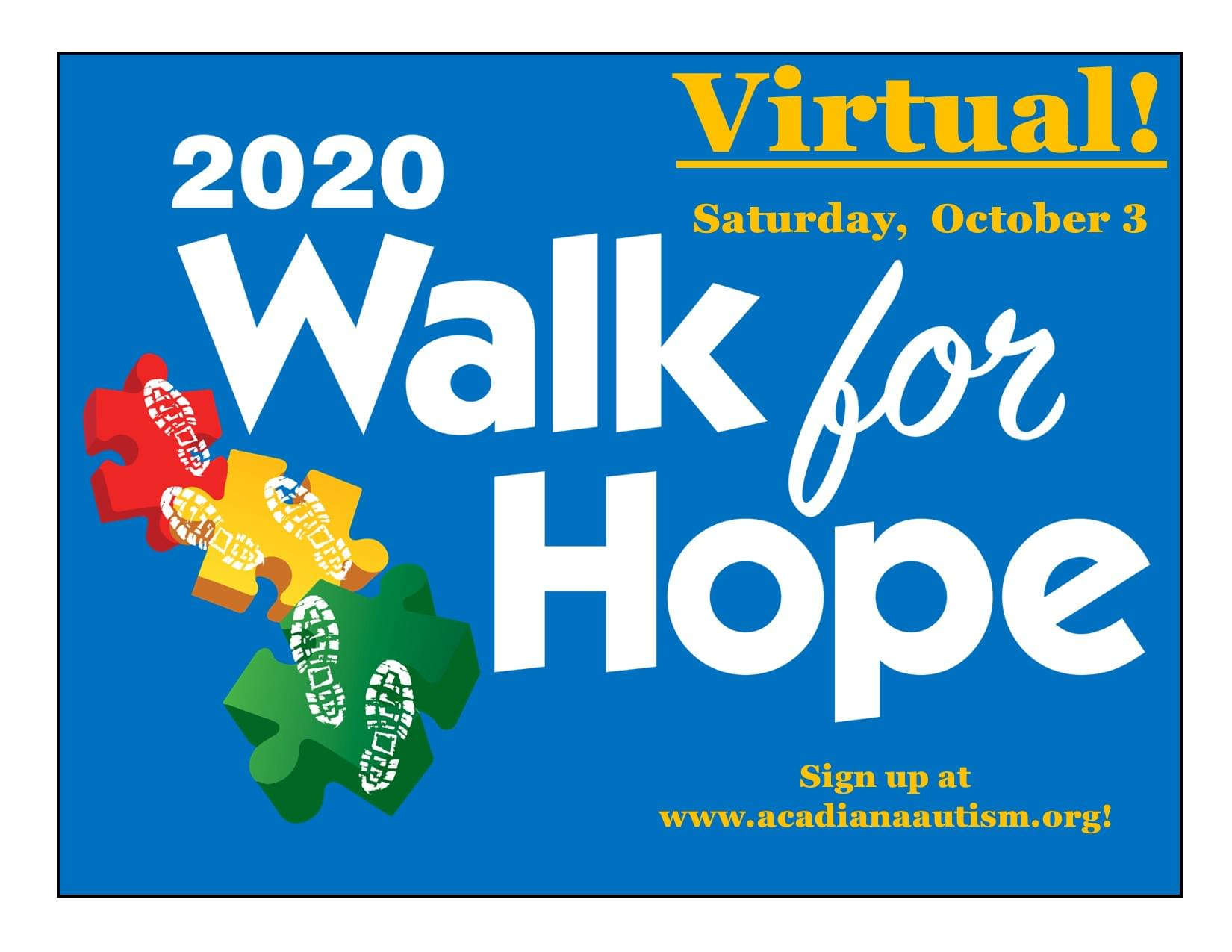 2020 Virtual Walk for Hope