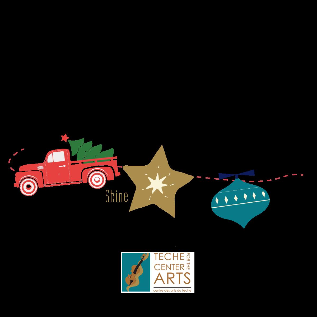 Breaux Bridge Drive By Christmas Party: Let Your Light Shine