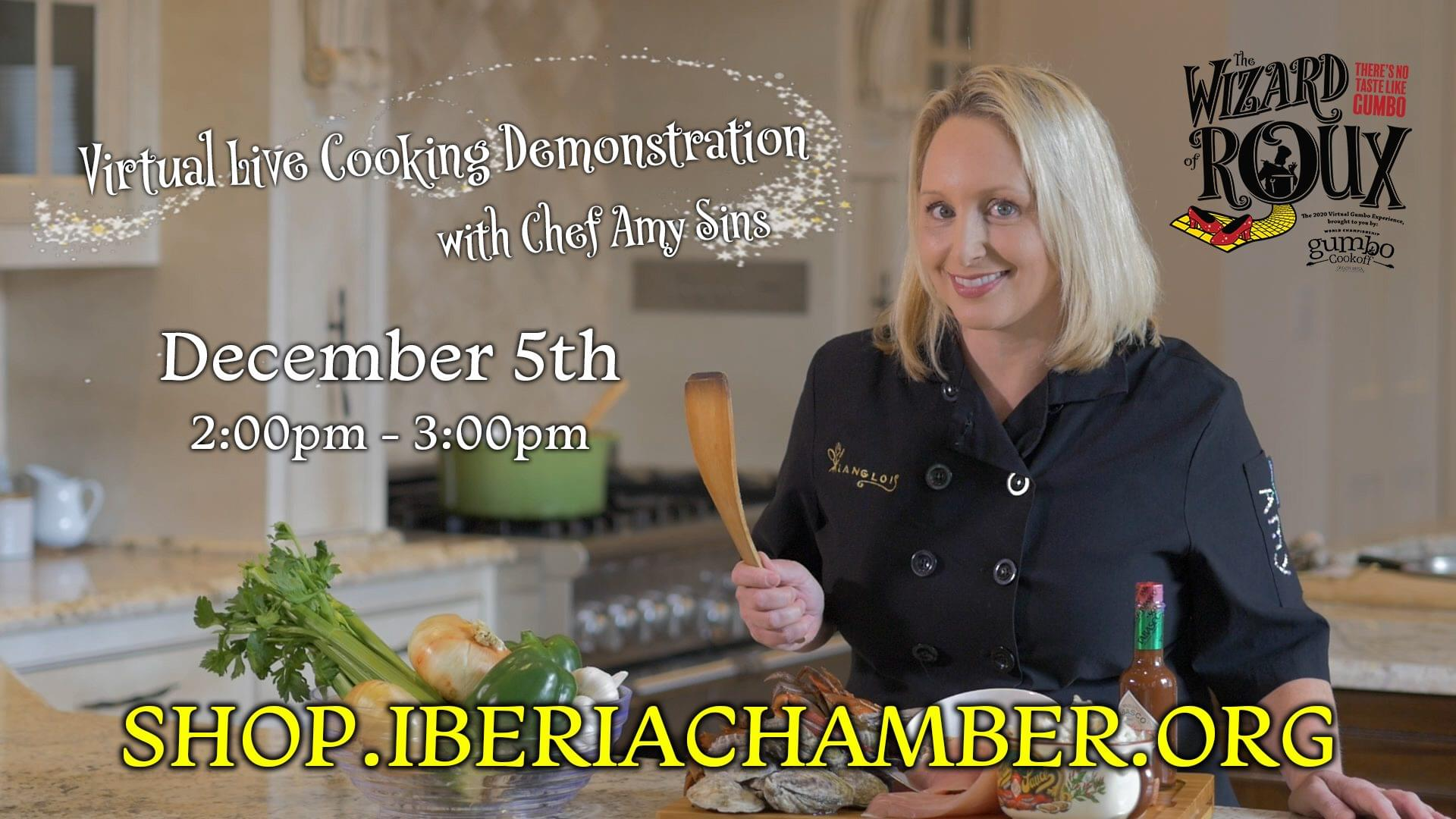 World Championship Gumbo Cook Off Live Virtual Cooking Demonstration