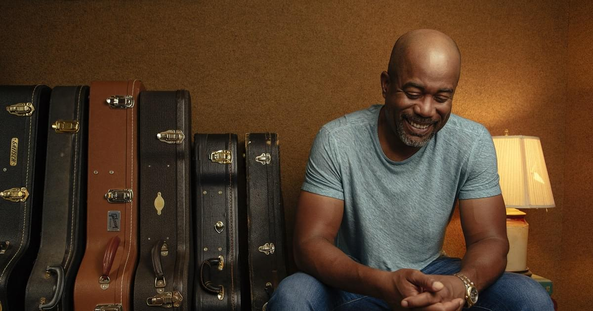 Darius Rucker Uses Beers and Sunshine to Claim the Number-One Spot