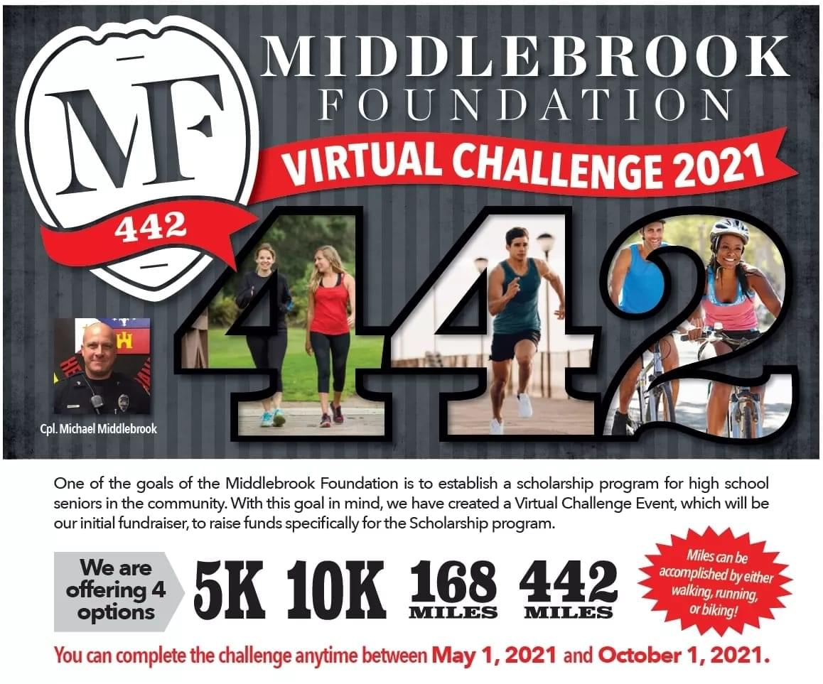Middlebrook Foundation Virtual Challenge 2021