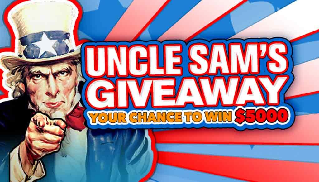 Uncle Sams Giveaway