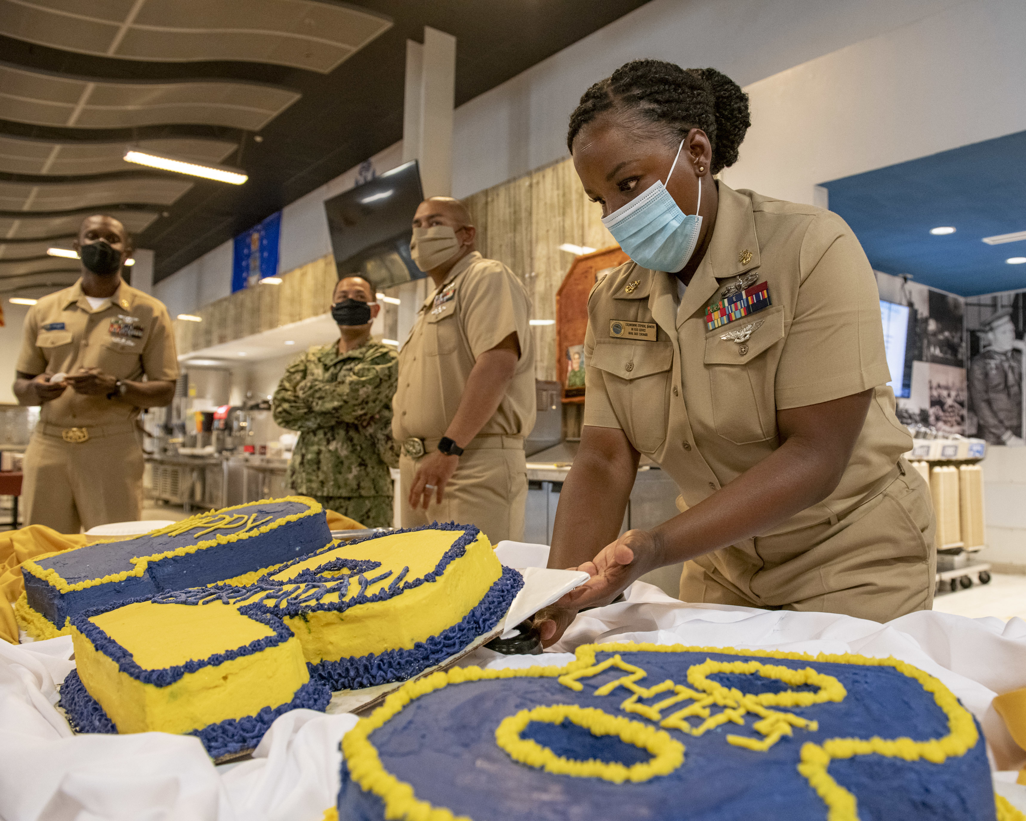 Lafayette Native Celebrates the 128th Birthday of the Rate of Chief Petty Officer