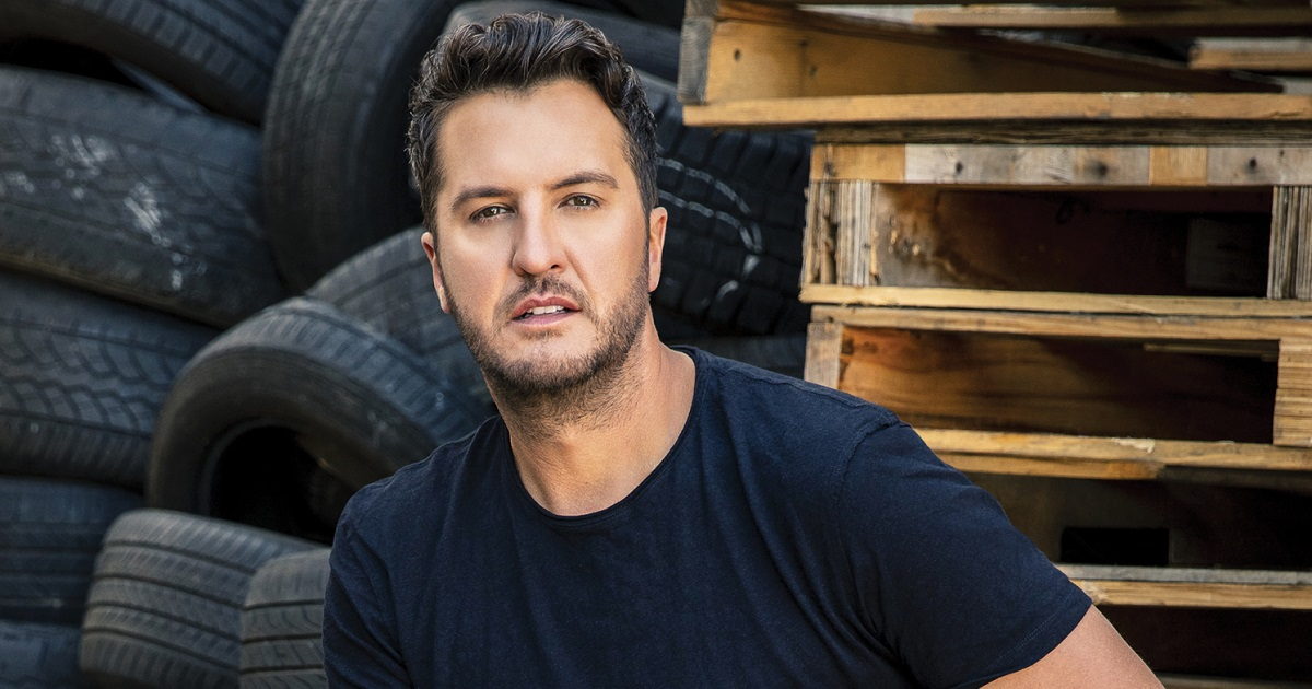 Luke Bryan's Sitting at Number-1 for Second Week as His Farm Tour Kicks-Off