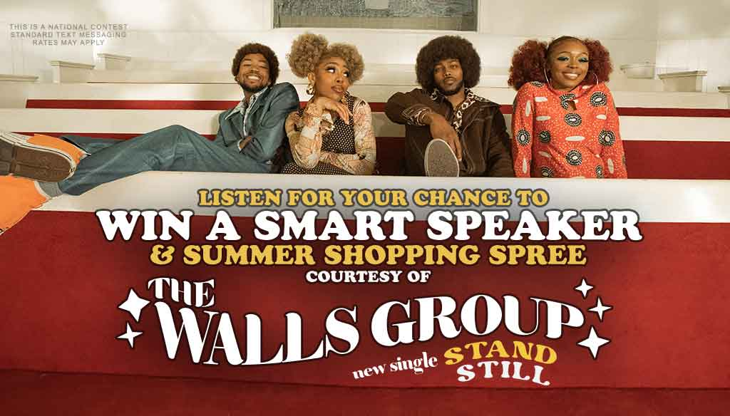 Win a Smart Speaker with The Walls Group