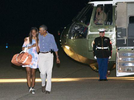 President Obama Turned Into A 'Crybaby' On Daughter Malia's First Day Of Senior Year