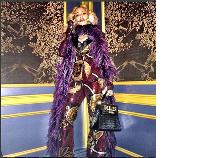 Madonna and The Purple Nation