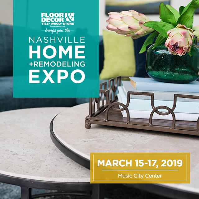 Shop w/ CDUB @ Nashville Home + Remodeling Expo