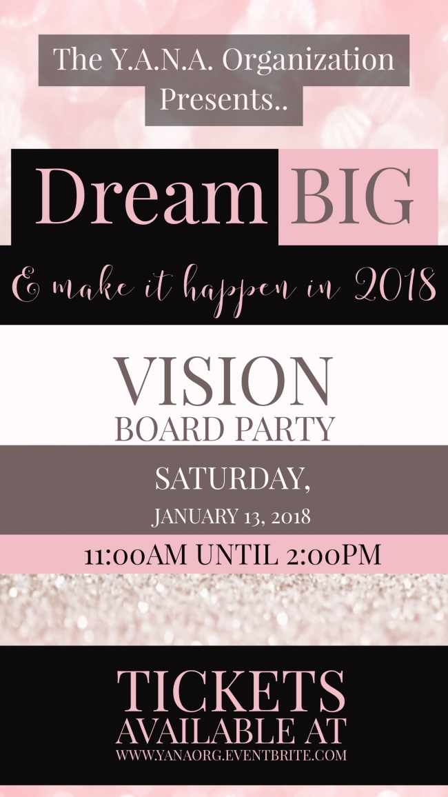 Visions of an Entrepreneur: Vision Board Event - SPACES & CO |Events Vision Board