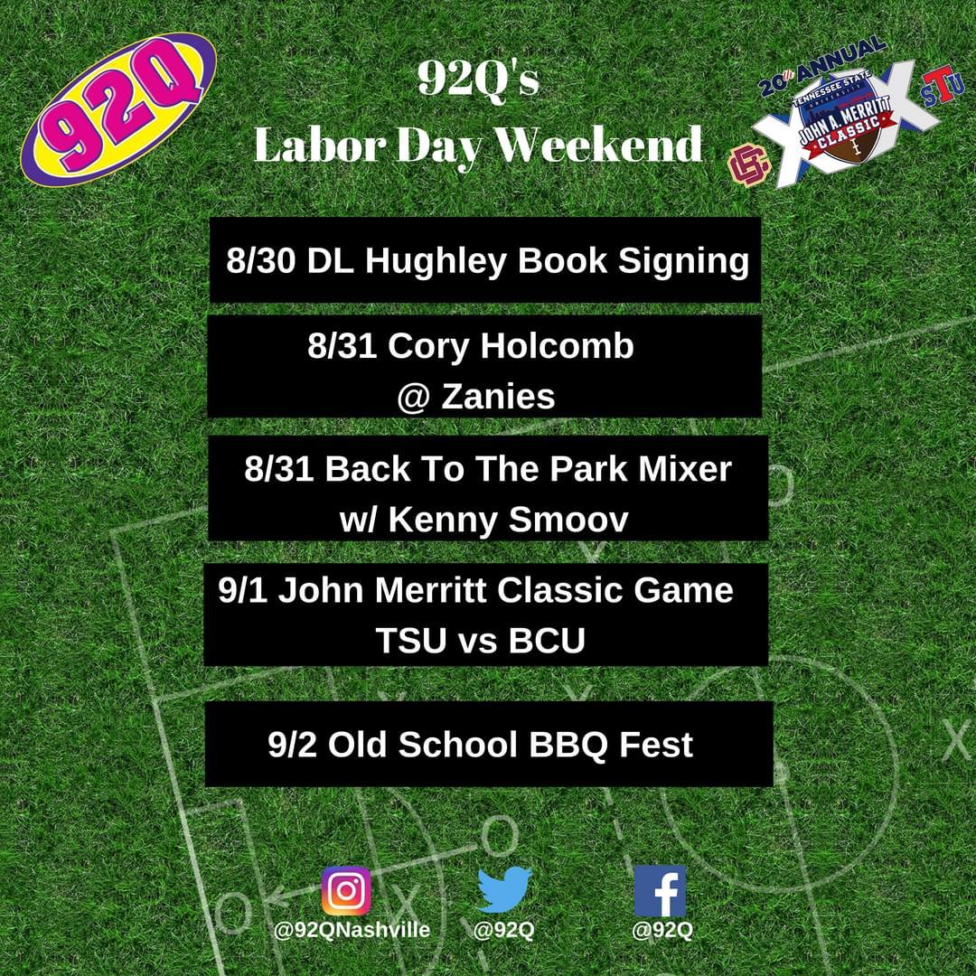 John Merritt Classic Week –  We've Got Your Labor Day Events