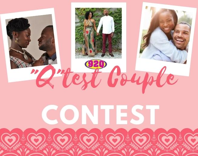 "92Q's ""Q""test Couple Contest"