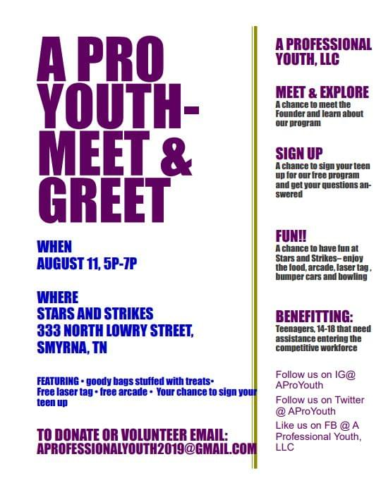 A Pro Youth Meet Greet Wqqk Fm