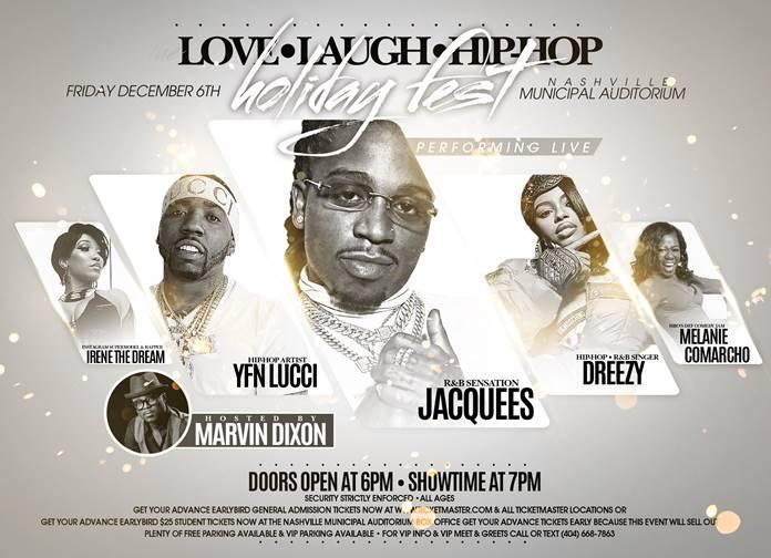 Love Laugh Hip Hop Holiday Fest