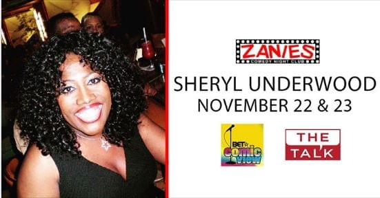 Sheryl Underwood at Zanies